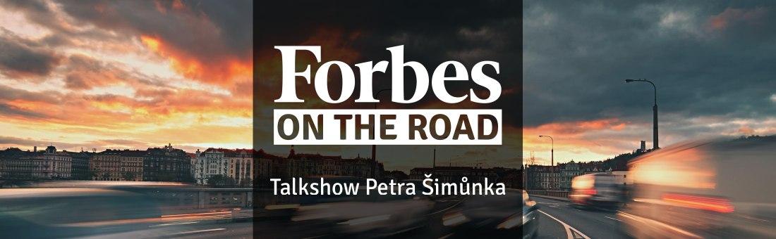 Forbes on the Road – Talkshow Petra Šimůnka