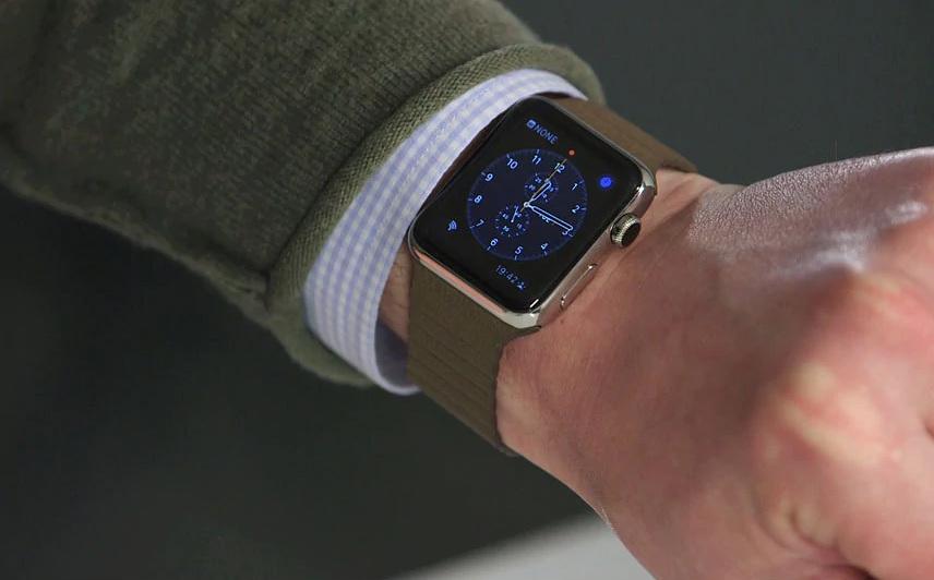 """Ive nechyběl ani u návrhu designu chytrých hodinek Apple Watch, které současný šéf Applu Tim Cook představil v září 2014. Prodejním trhákem se nakonec nestaly, což ani nebyl Iveho úkol. """"Více se zajímám o to, jak můžeme vytvořit co nejlepší produkt, než kolik jej prodáme,"""" uvedl Ive pro Financial Times."""