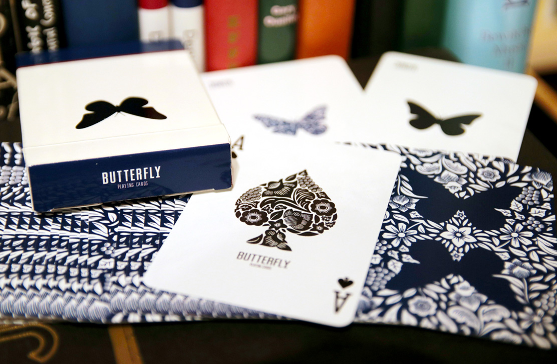 Butterfly Playing Cards 2