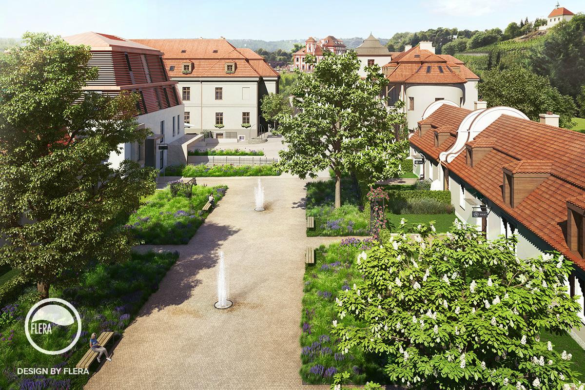 Pražská Troja Chateau Residence