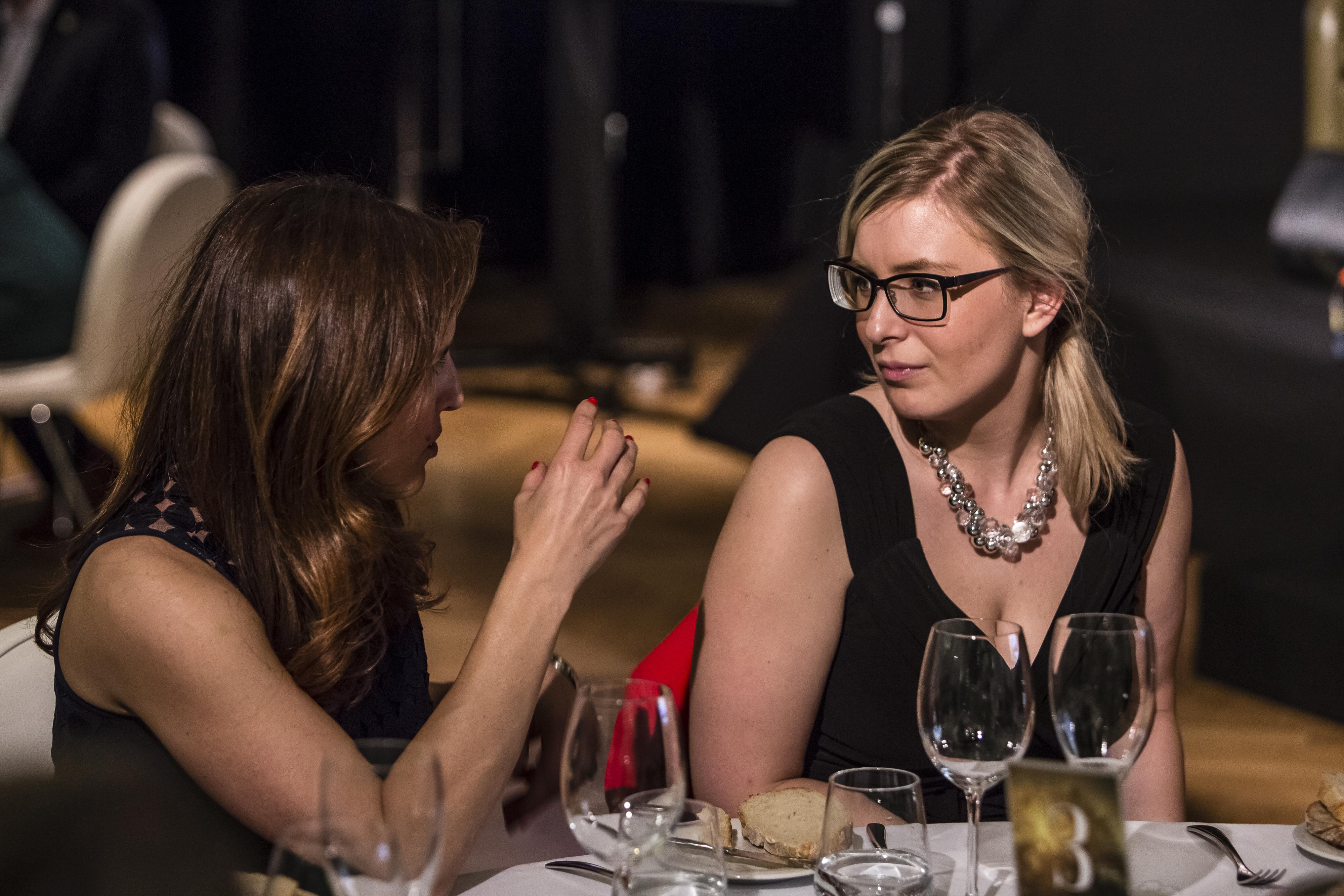 Martina Kavanová (Samsung) a Kateřina Zychová (Verdi Capital), zprava.