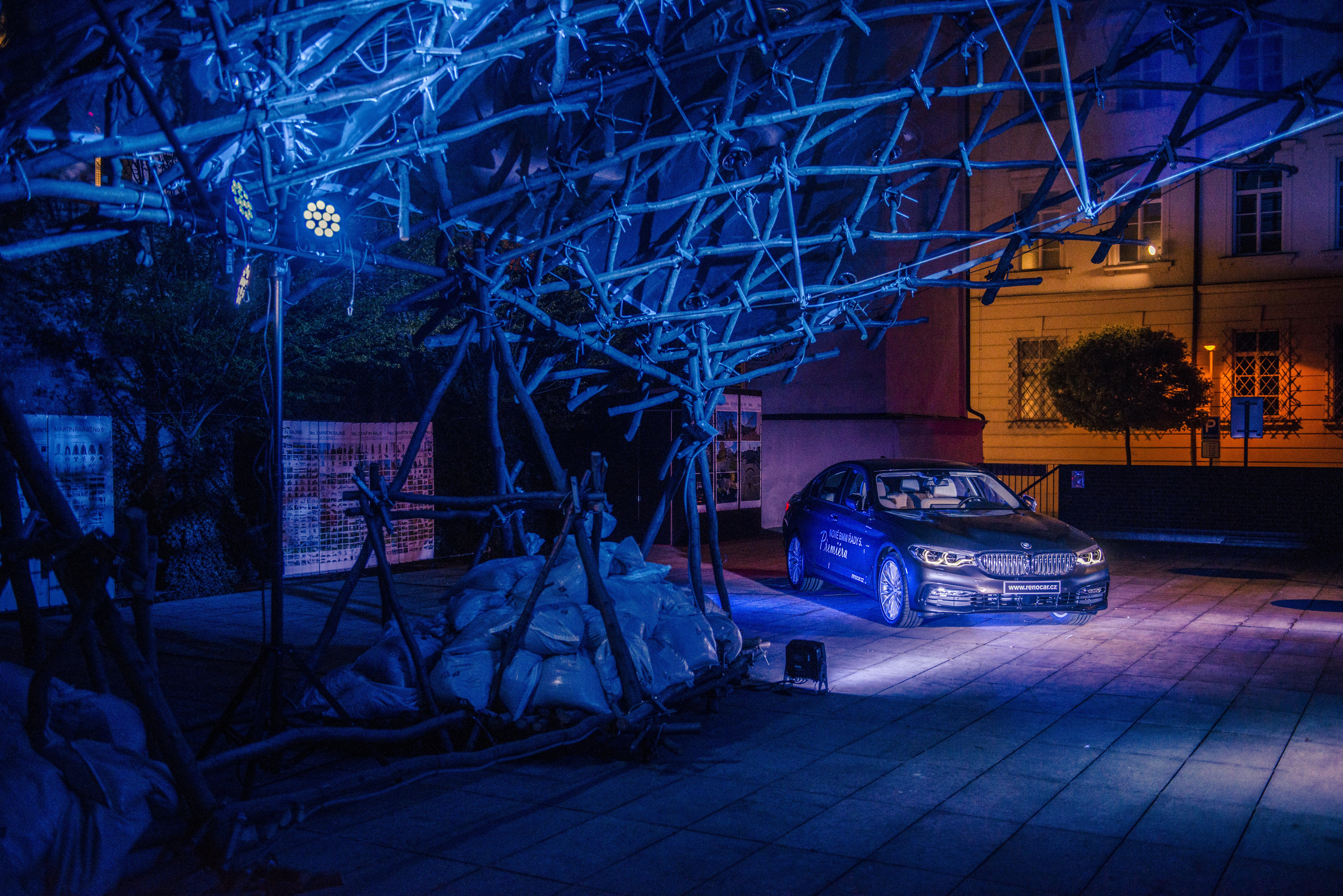 Představen byl i luxusní vůz BMW řady 5.