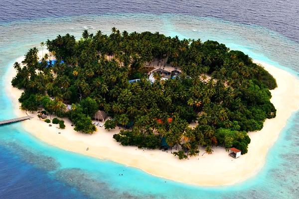 Pořízení opuštěného ostrova na Bahamách ho vyšlo na 3 miliony dolarů.