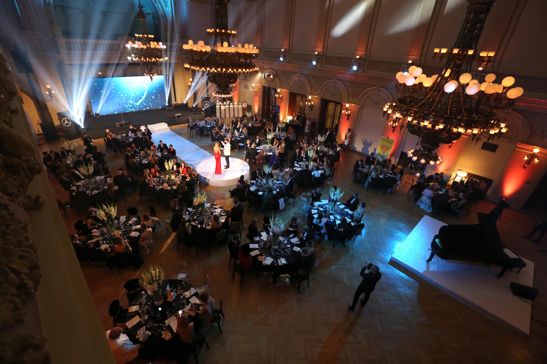 Galavečeře Forbes & Happy Hearts Fund v prostorách Paláce Žofín.