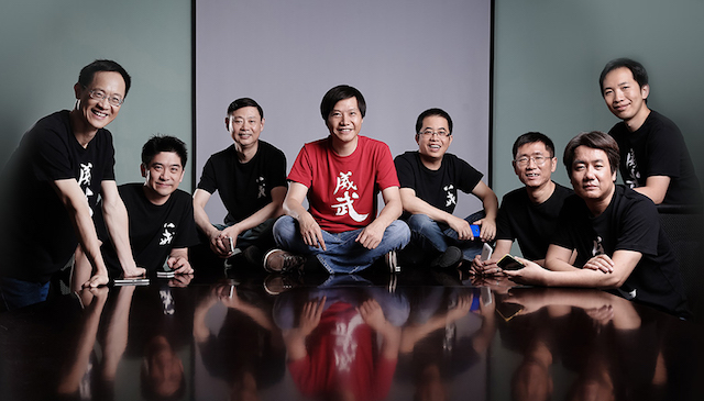 Tým Xiaomi, Lei Jun uprostřed